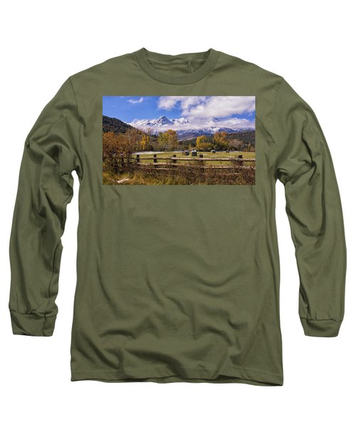 Double Rl Ranch Long Sleeve T-Shirt by Priscilla Burgers