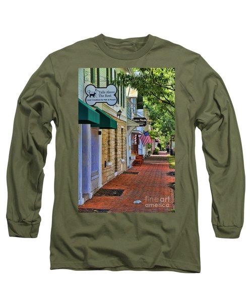 Downtown Dublin Ohio Long Sleeve T-Shirt