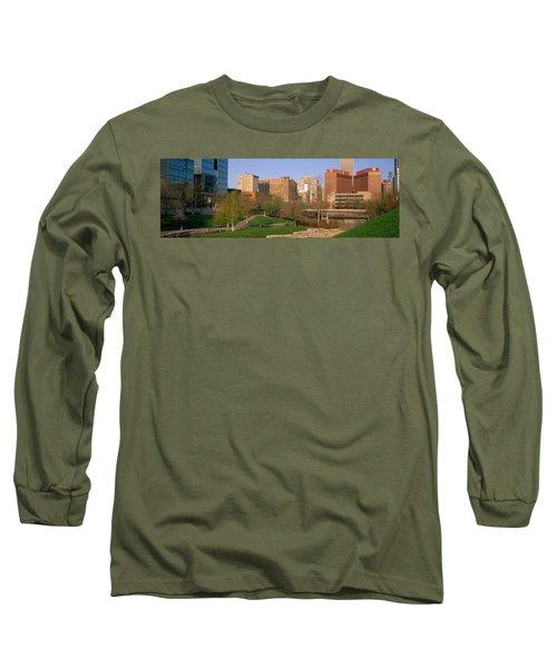 Downtown Omaha Ne Long Sleeve T-Shirt