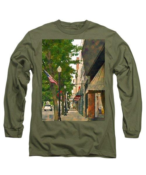 Downtown Usa Long Sleeve T-Shirt