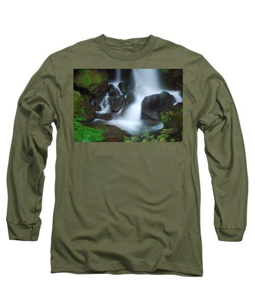 Dragon Head Falls Long Sleeve T-Shirt