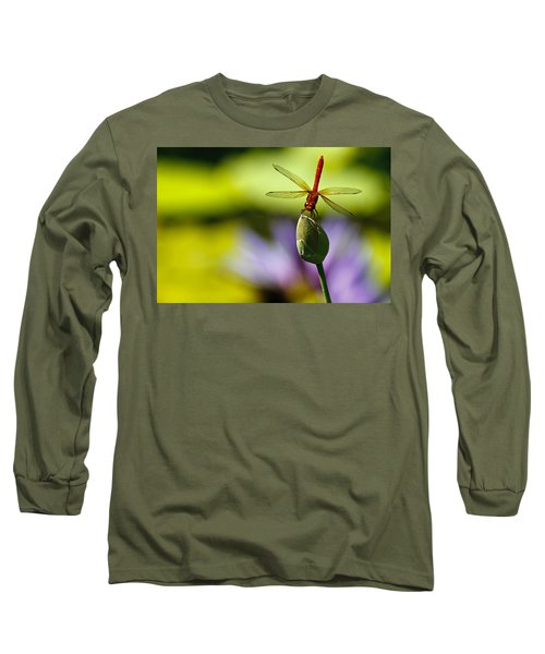 Dragonfly Display Long Sleeve T-Shirt