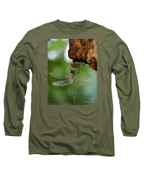 Dragonfly Long Sleeve T-Shirt by Jane Ford