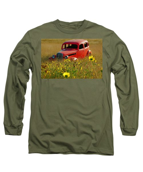 Long Sleeve T-Shirt featuring the photograph Dream Left Behind by Leticia Latocki