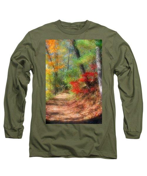 Dreaming Of Fall Long Sleeve T-Shirt by Kristin Elmquist