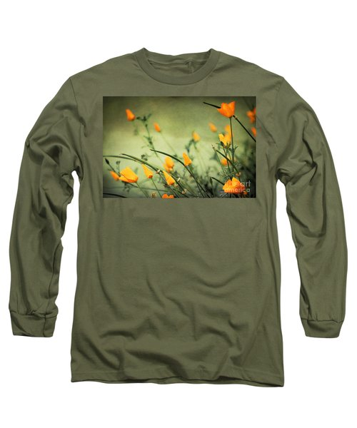 Long Sleeve T-Shirt featuring the photograph Dreaming Of Spring by Ellen Cotton