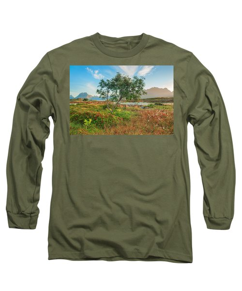 Long Sleeve T-Shirt featuring the photograph Dreamlike by Maciej Markiewicz