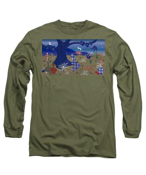 Dreamscape - Limited Edition  Of 30 Long Sleeve T-Shirt by Gabriela Delgado