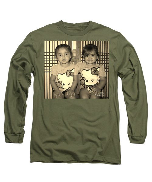 Dressed To Impress Long Sleeve T-Shirt by Craig Wood