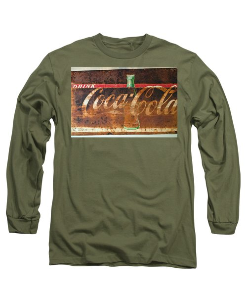 Drink Coca-cola Long Sleeve T-Shirt by Tikvah's Hope
