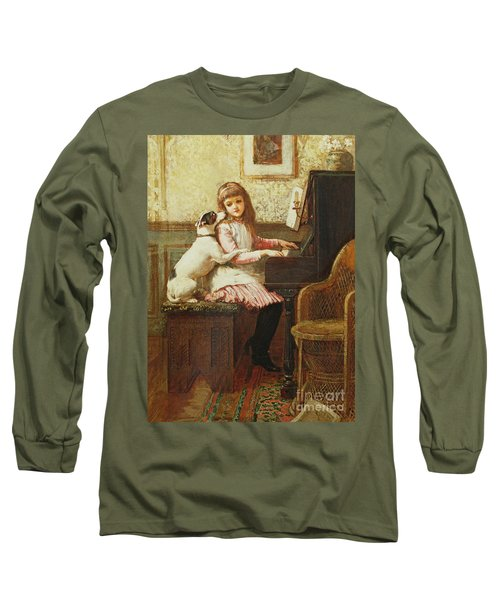 Drink To Me Only With Thine Eyes Long Sleeve T-Shirt