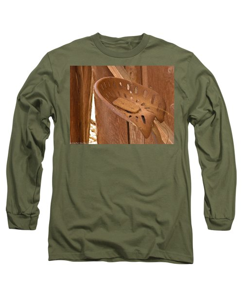 Long Sleeve T-Shirt featuring the photograph Drivers Seat by Nick Kirby