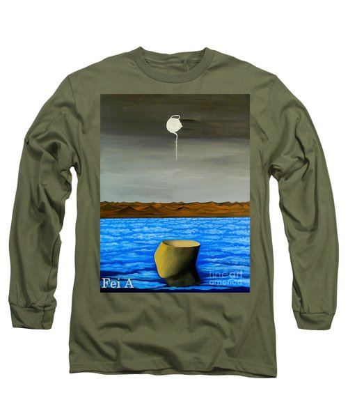 Dry-land Culture Long Sleeve T-Shirt by Fei A