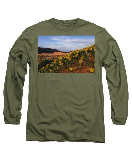 Dunes In Bloom Long Sleeve T-Shirt