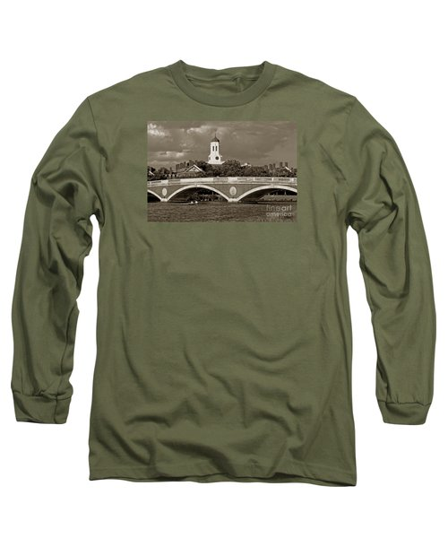 Weeks Bridge Charles River Bw Long Sleeve T-Shirt