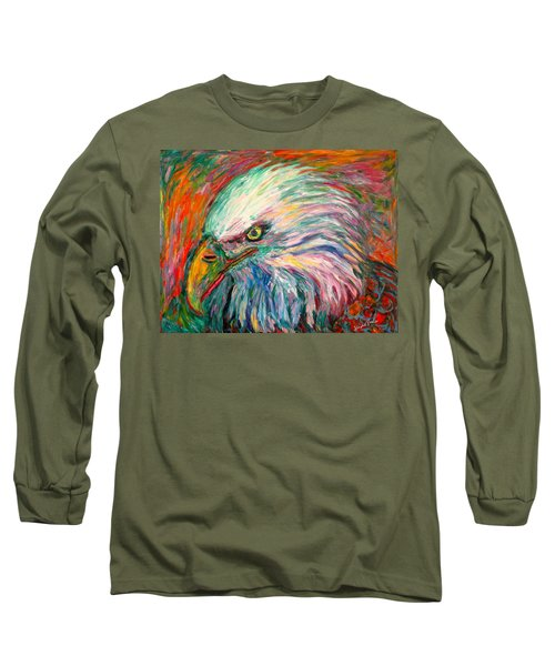 Eagle Fire Long Sleeve T-Shirt by Kendall Kessler