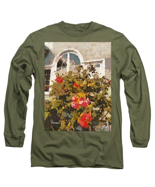 Long Sleeve T-Shirt featuring the photograph Alameda Roses by Linda Weinstock