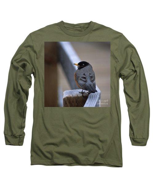 Early Bird Long Sleeve T-Shirt by Sharon Elliott