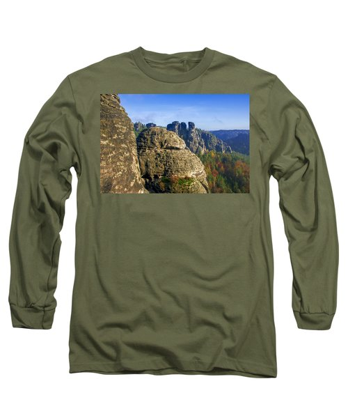 Early Morning On Neurathen Castle Long Sleeve T-Shirt