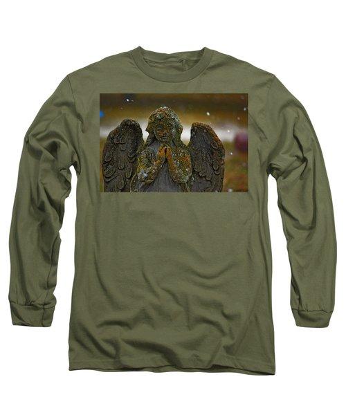 Earth Angel Long Sleeve T-Shirt by Rowana Ray