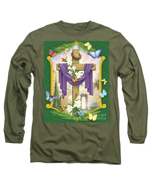Easter Cross Long Sleeve T-Shirt