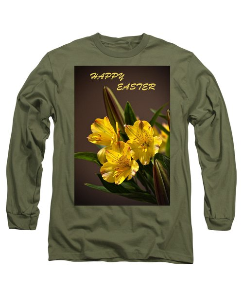 Easter Lilies Long Sleeve T-Shirt by Sandi OReilly