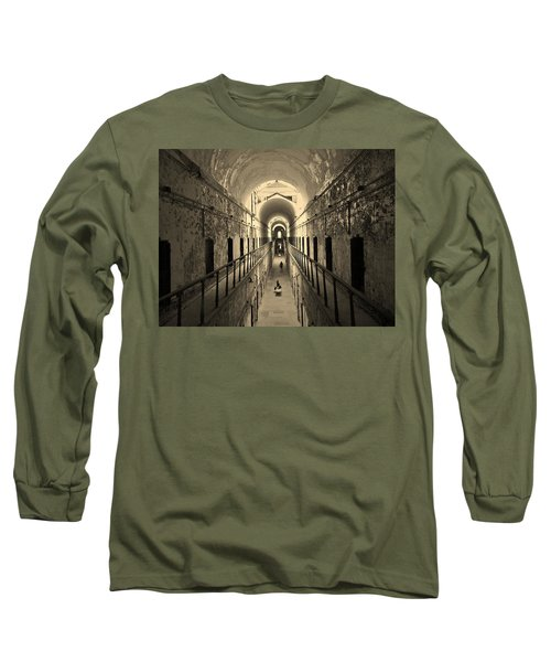 Eastern State Of Mind Long Sleeve T-Shirt by Robert Geary