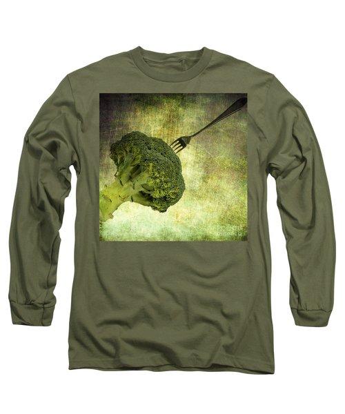 Eat Your Broccoli Long Sleeve T-Shirt