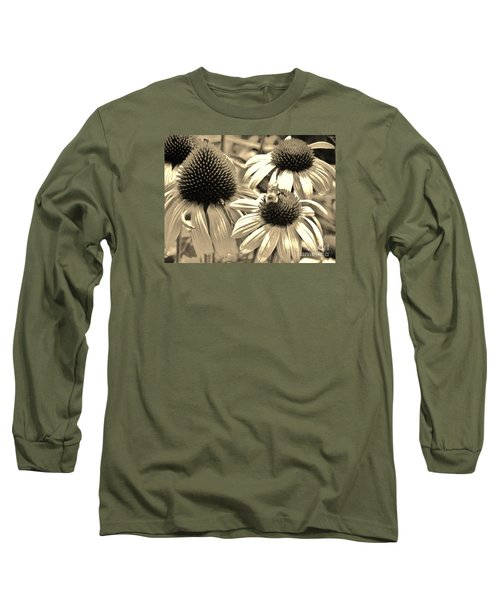 Long Sleeve T-Shirt featuring the photograph ech by Robin Coaker