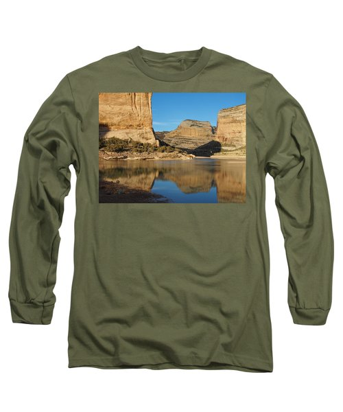 Echo Park In Dinosaur National Monument Long Sleeve T-Shirt