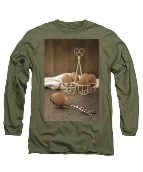 Eggs Long Sleeve T-Shirt