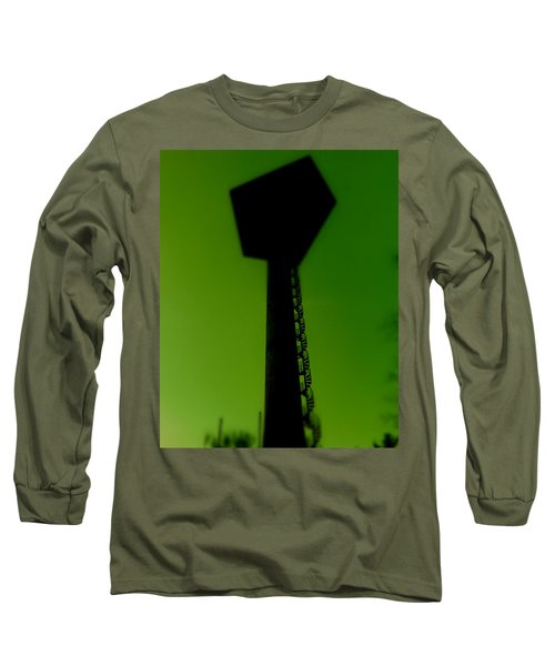Long Sleeve T-Shirt featuring the photograph Elastic Concrete Part Four by Sir Josef - Social Critic - ART
