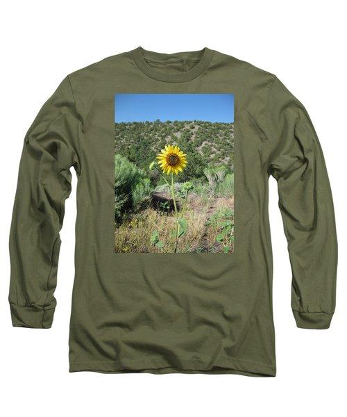 Elated Sunflower Long Sleeve T-Shirt