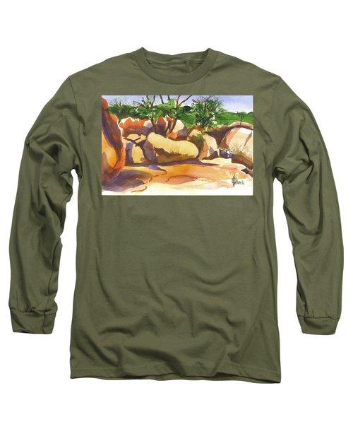 Elephant Rocks Revisited I Long Sleeve T-Shirt