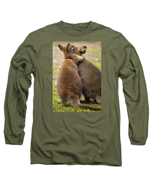 Embrace Long Sleeve T-Shirt by Mike  Dawson