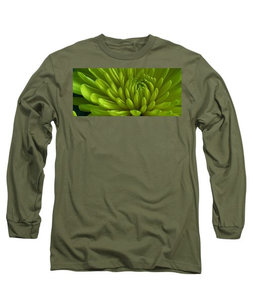 Emerald Dahlia Long Sleeve T-Shirt