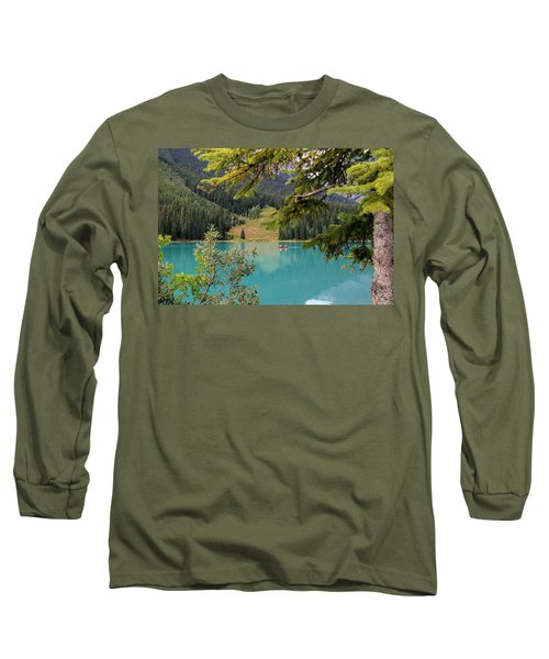 Emerald Lake British Columbia Long Sleeve T-Shirt