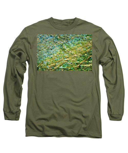 Emerald Water Long Sleeve T-Shirt
