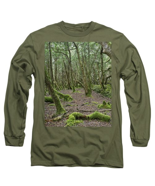 Long Sleeve T-Shirt featuring the photograph Enchanted Forest by Hugh Smith