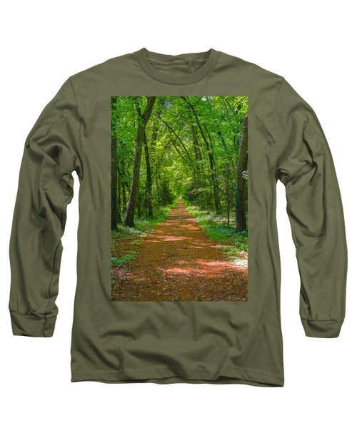 Endless Trail Into The Forest Long Sleeve T-Shirt
