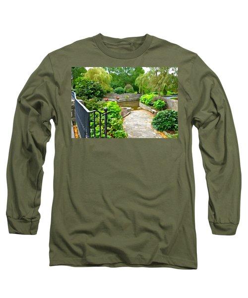 Enter The Garden Long Sleeve T-Shirt