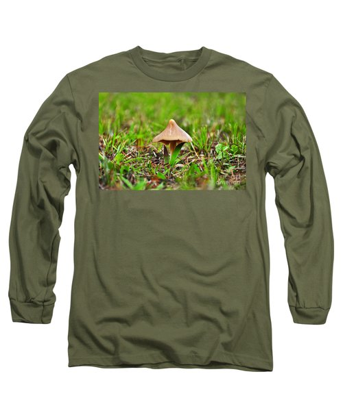 Entoloma Mushroom Long Sleeve T-Shirt