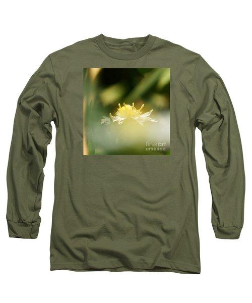 Enwrapped In Misty Shroud Long Sleeve T-Shirt by Linda Shafer