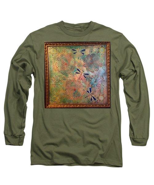 Eternal Sun By Alfredo Garcia  Long Sleeve T-Shirt