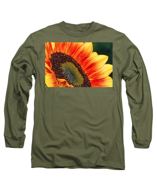 Evening Sun Sunflower Long Sleeve T-Shirt