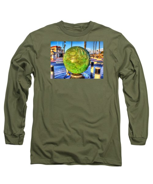 Everyone Is Welcome At The Beach Long Sleeve T-Shirt by Jim Carrell