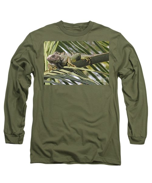Eye Of The Iguana Long Sleeve T-Shirt