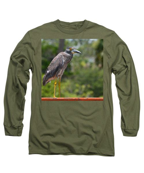 Long Sleeve T-Shirt featuring the photograph Eye To Lens by DigiArt Diaries by Vicky B Fuller