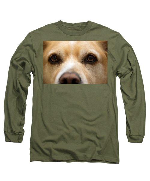 Eyes Of Friendship  Long Sleeve T-Shirt by Aaron Berg
