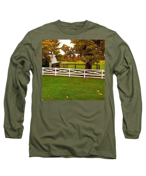 Fall At Eisenhower Farm Long Sleeve T-Shirt